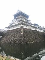 北九州市役所近くの小倉城